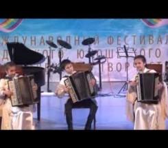 Трио Тедеев Азамат, Дряева Кристина, Джикаева Диана,с. Октябрьское